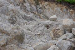 Piccola cava di calcare Fotografia Stock