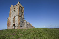 Piccola chiesa abbandonata Fotografia Stock Libera da Diritti