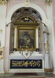 Piccola chiesa dei tre altari, Costantinopoli dell'altare Fotografia Stock