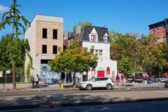 Piccola chiesa del bptiste in Harlem immagine stock