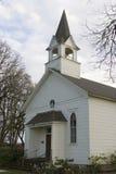 Piccola chiesa del paese Fotografie Stock Libere da Diritti
