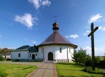 Piccola chiesa del villaggio fotografia stock