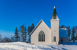 Piccola chiesa del villaggio Fotografie Stock