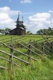 Piccola chiesa di legno Immagine Stock Libera da Diritti