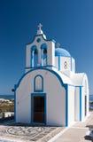 Piccola chiesa greca Fotografia Stock