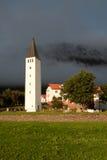 Piccola chiesa in Islanda Fotografia Stock Libera da Diritti