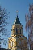 Piccola chiesa ortodossa Immagini Stock Libere da Diritti
