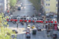 Piccola città immagini stock