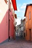 Piccola città antica Cigillo Immagine Stock