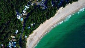 Piccola città costiera in Australia video d archivio