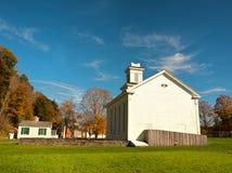 Piccola città rurale Fotografia Stock