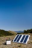 Piccola energia solare dentro all'aperto Fotografia Stock