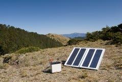 Piccola energia solare dentro all'aperto Immagine Stock