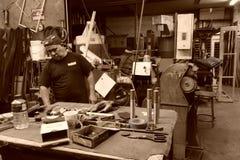 Piccola fabbrica in NYC Fotografia Stock Libera da Diritti