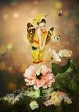 Piccola farfalla Immagini Stock Libere da Diritti