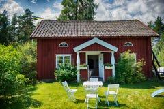 Piccola fattoria svedese dei soldati Fotografia Stock
