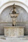 Piccola fontana di Onofrio Fotografia Stock Libera da Diritti