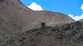 Piccola fortificazione di Chilas Immagini Stock