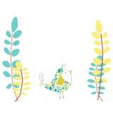 Piccola illustrazione dell'uccello Illustrazione Vettoriale