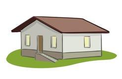 Piccola illustrazione di casa Illustrazione di Stock