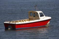Piccola imbarcazione a motore di legno Immagine Stock Libera da Diritti