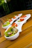 Piccola insalata fotografia stock