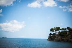 Piccola isola di paradiso Fotografia Stock