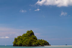 Piccola isola esotica Fotografia Stock