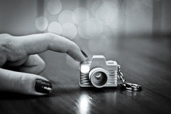 Piccola macchina fotografica Immagine Stock Libera da Diritti