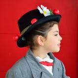 Piccola Mary Poppins immagini stock libere da diritti