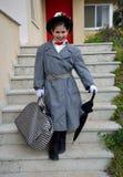 Piccola Mary Poppins fotografia stock libera da diritti