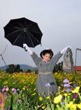 Piccola Mary Poppins immagine stock libera da diritti