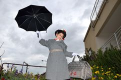 Piccola Mary Poppins fotografia stock