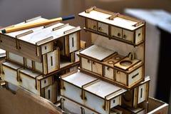 Piccola mobilia del giocattolo Fotografie Stock Libere da Diritti