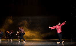 Piccola moglie - la danza popolare nazionale Fotografia Stock