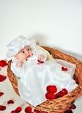 Piccola neonata fotografie stock libere da diritti