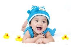 Piccola neonata Immagini Stock Libere da Diritti