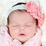 Piccola neonata fotografie stock