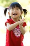 Piccola neonata cinese asiatica Immagine Stock Libera da Diritti