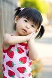 Piccola neonata cinese asiatica Fotografie Stock
