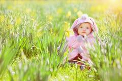 Piccola neonata dolce Immagine Stock
