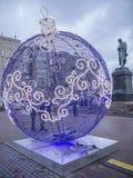 Piccola palla del nuovo anno Fotografie Stock