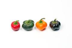 Piccola paprica del capsico del peperoncino rosso del peperone dolce Immagine Stock Libera da Diritti