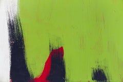 Piccola parte di grande graffito-fondo colourful della via Fotografie Stock
