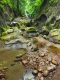 Piccola pietra in canyon Fotografia Stock Libera da Diritti