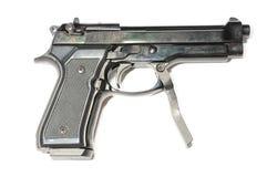 Piccola pistola con la maniglia Fotografia Stock