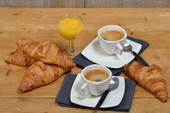 Piccola prima colazione francese immagine stock