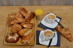 Piccola prima colazione francese immagini stock libere da diritti