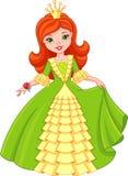 Piccola principessa illustrazione di stock