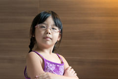 Piccola ragazza asiatica Immagine Stock Libera da Diritti
